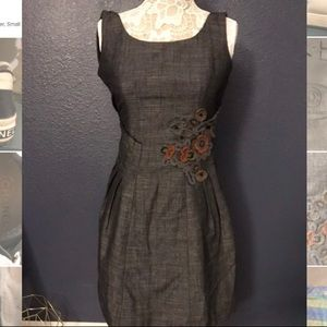 Anthropologie Tabitha Embroidered Dress